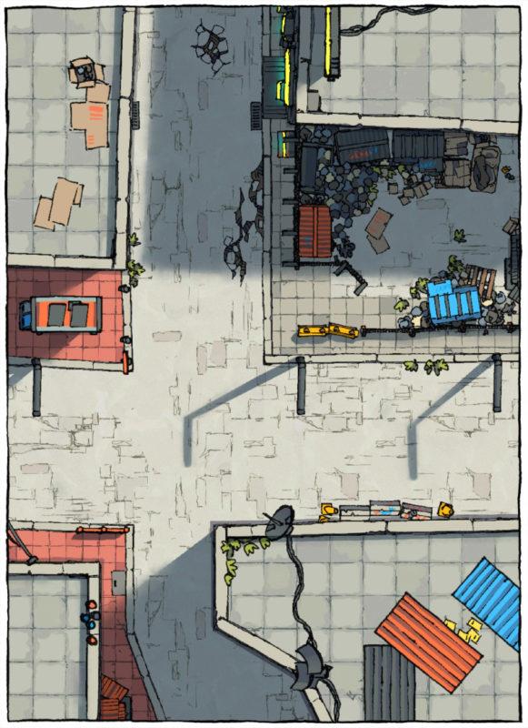 Cyberpunk Street Assets - Long preview