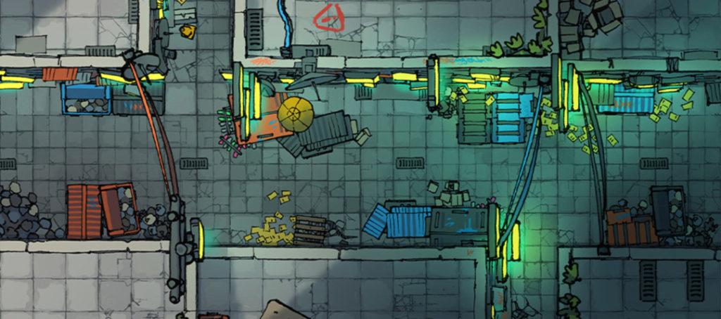 Cyberpunk Street Assets - battle maps banner