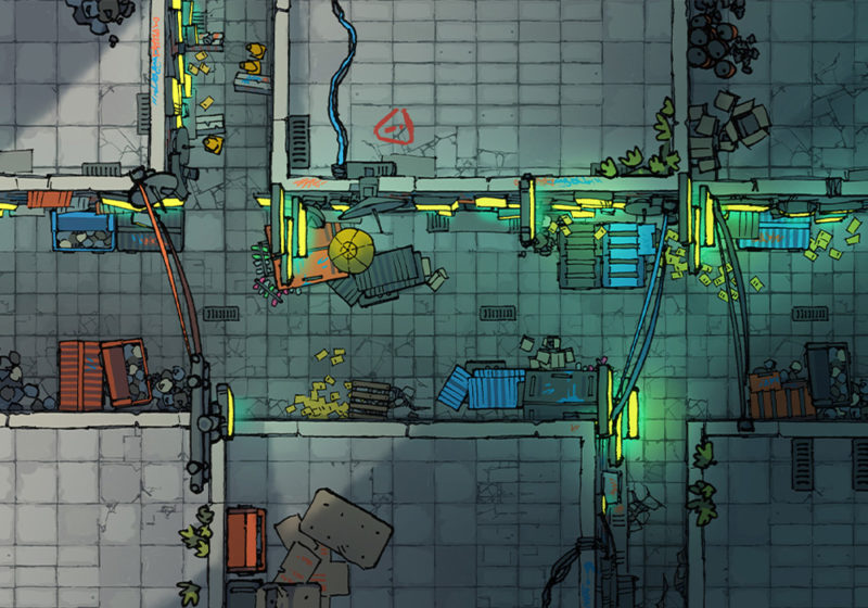 Cyberpunk Street Assets - main preview