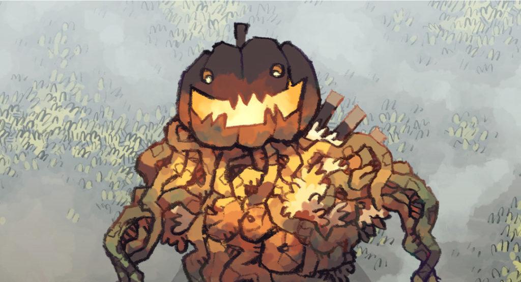 Harvest Horror Token Figurine - Banner
