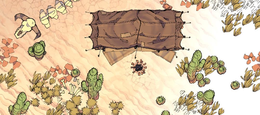 Desert Map Assets - Banner preview
