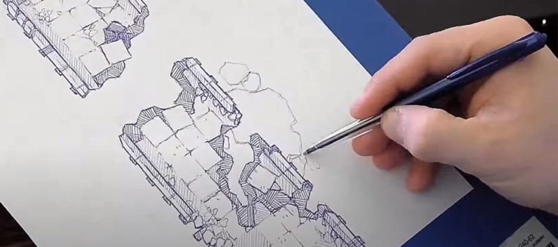 How To Design and Draw TTRPG Battle Maps - Featured Image
