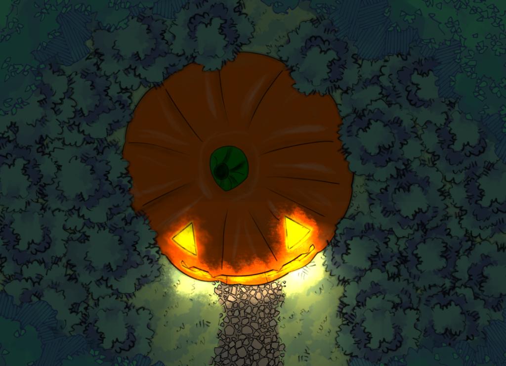 ReverendLovecraft - Pumpkin Outside