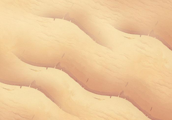Basic Desert Dunes - 22x16