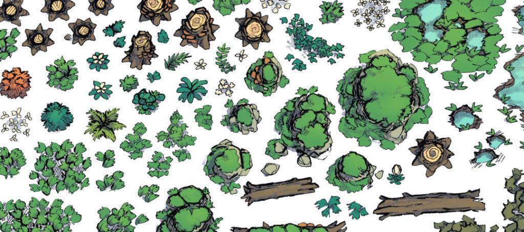 Forest Floor Map Assets - Banner - Alt