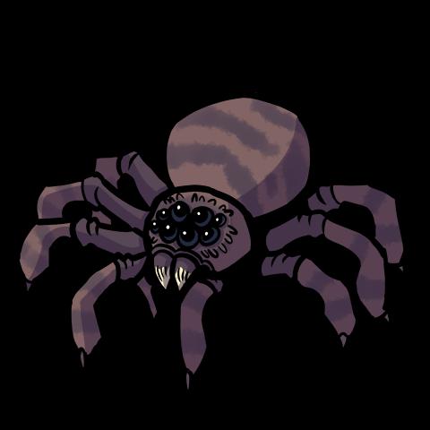 Giant Spider monster token