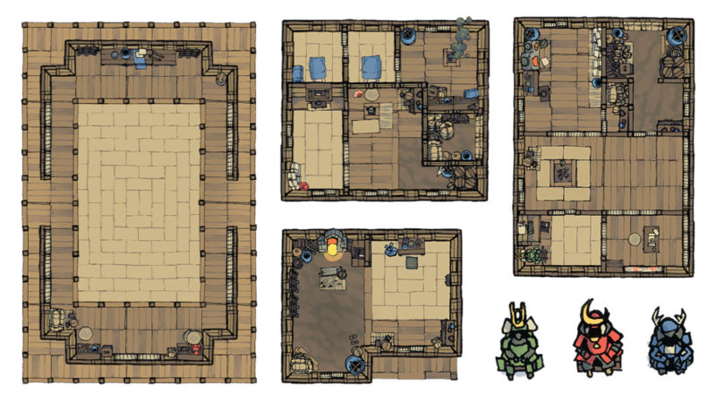 Japanese Furniture Map Assets - Banner preview 2