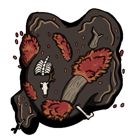 Mulch Ooze Creature Token