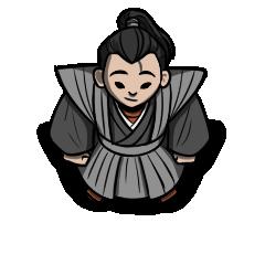 Samurai Lord NPC Token