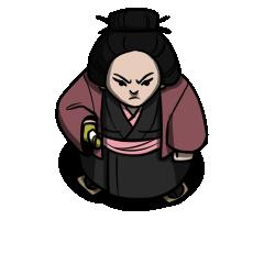 Samurai NPC Token (f)