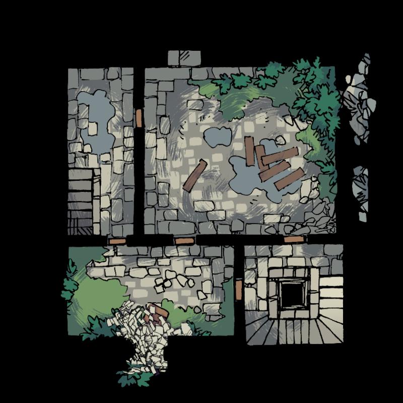 Verdantguard Keep, Floor 1 (12x12)