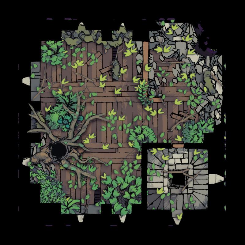 Verdantguard Keep, Floor 4 (12x12)