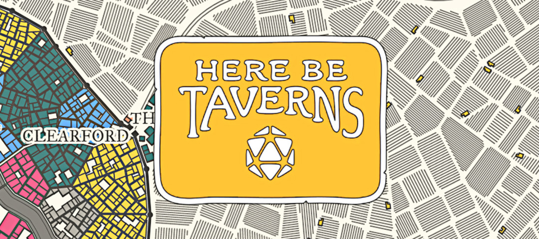 Here Be Taverns Banner
