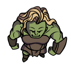 Orugall character token