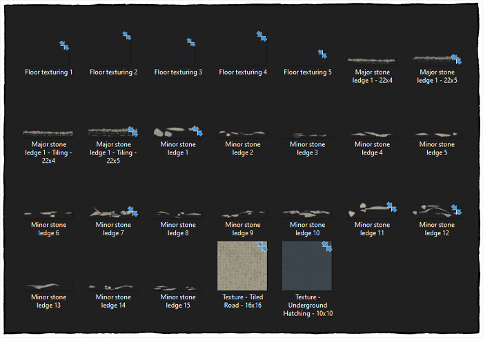 Undergound Highway - Map Assets contents preview