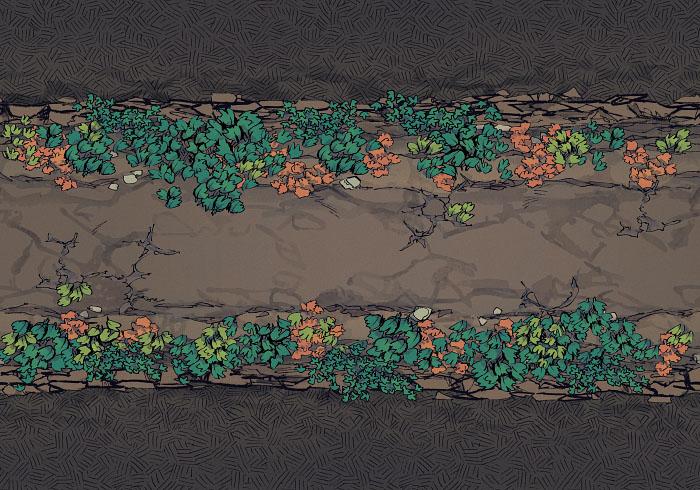 Underground Highway - Overgrown - Natural