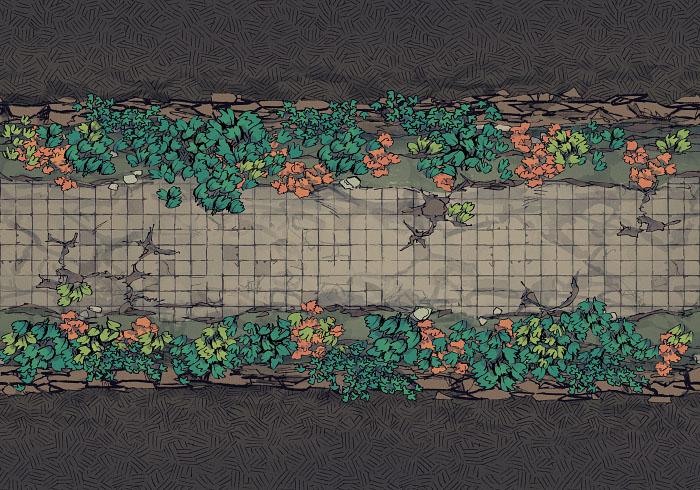 Underground Highway - Overgrown - Road