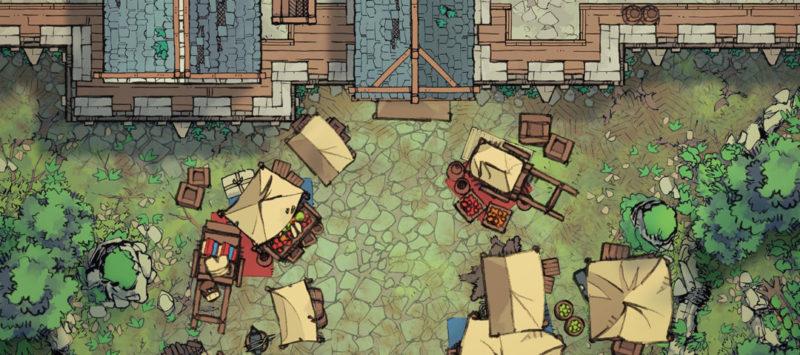 City Gates battle map - Banner