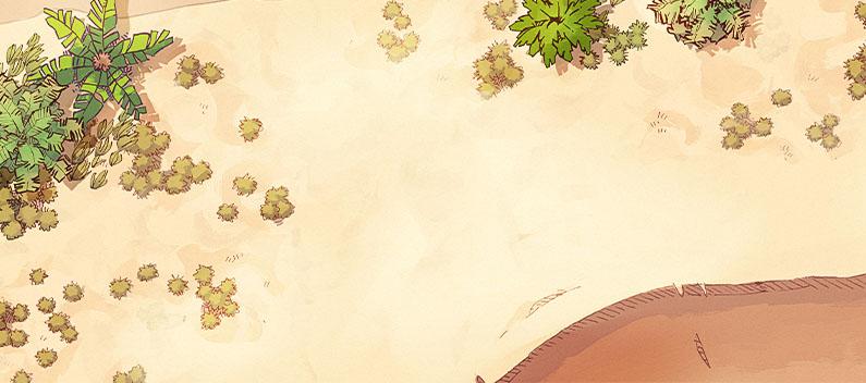Desert Shoreline map variant banner