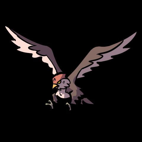 Eagle creature token