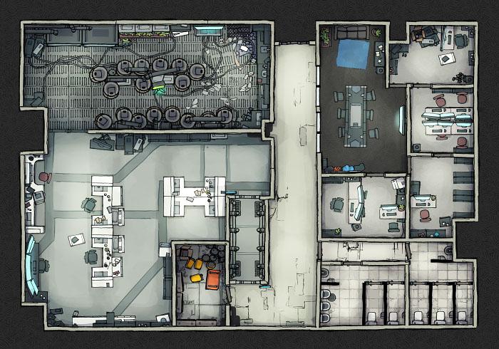 Secret Research Facility - Laboratory A (22x16)