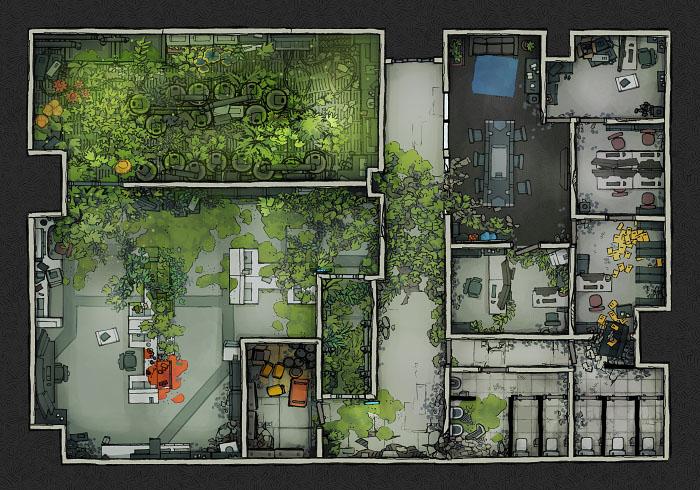 Secret Research Facility - Laboratory C (22x16)