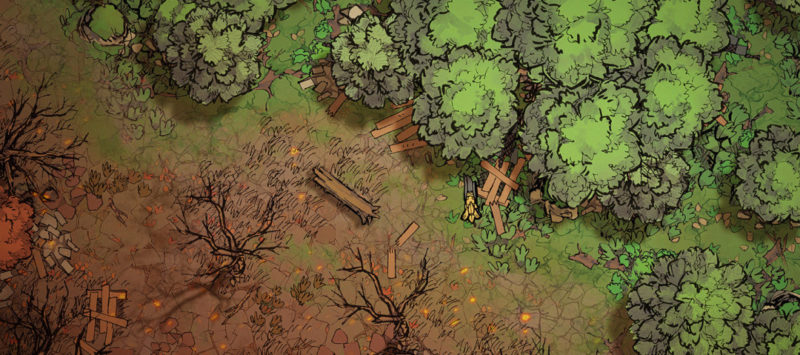 Forest Treetop Map Assets - Banner preview