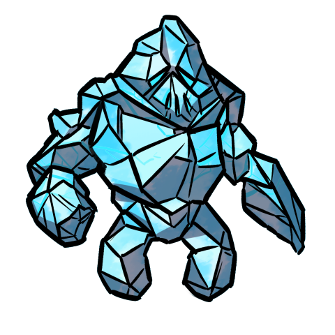 Ice Elemental monster token