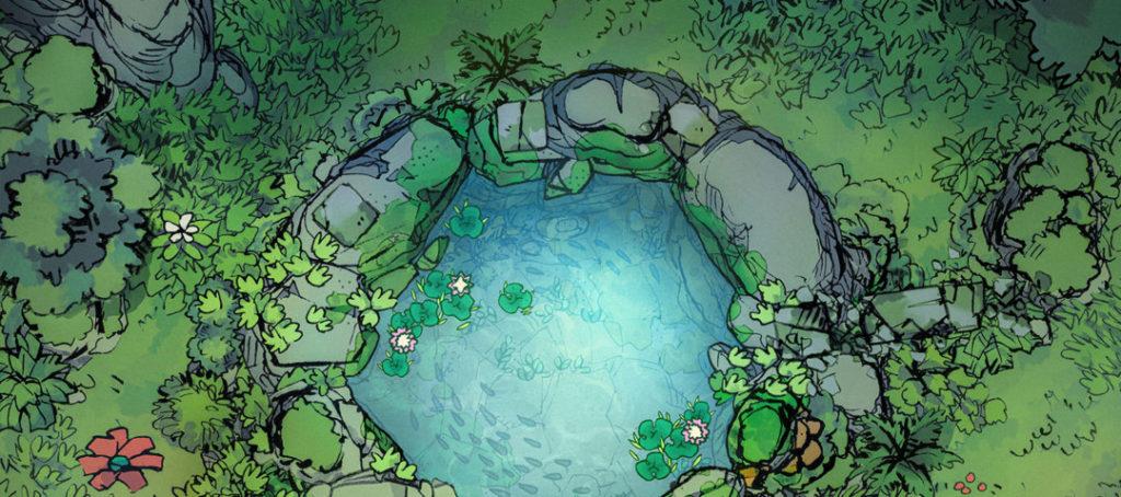 Sacred Spring battle map - Banner