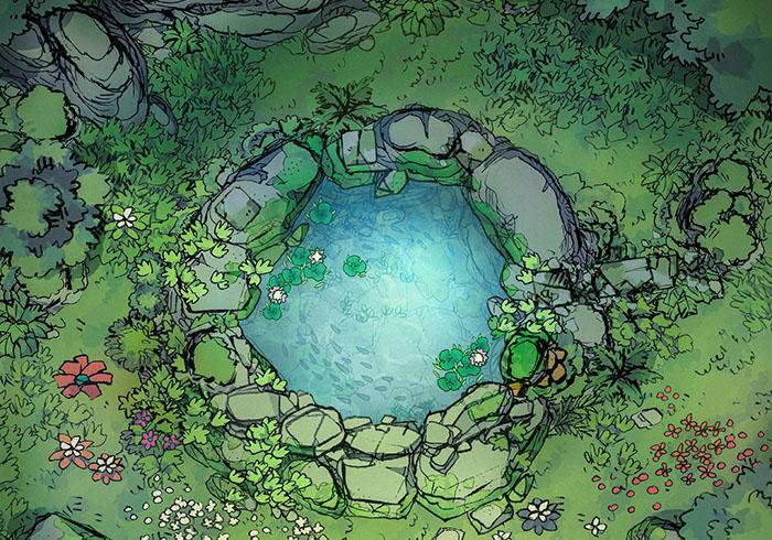 Sacred Spring battle map - Cropped