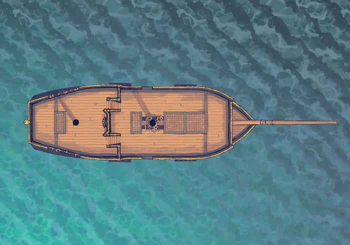 Sailing Chef - Seafaring - Day - Exterior - 32x22