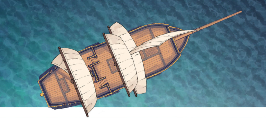 Sailing Chef ship battle map - Banner preview