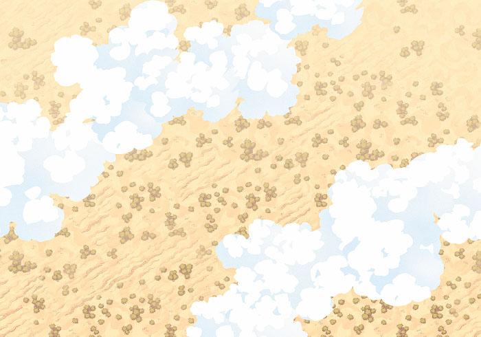 Cloudy Sky - Desert - 22x16