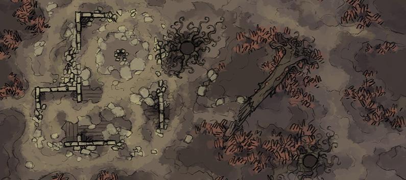 Dusnak Swamp Adventure - Banner - Shifting Swamp