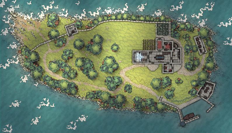 Loreto Island v1.3 (ground) 85x49 @140pps