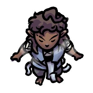 Zephas monk character token