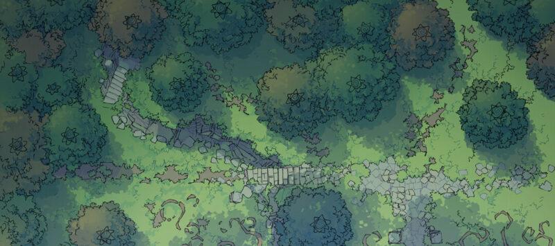 Fairy Glade battle map - Banner