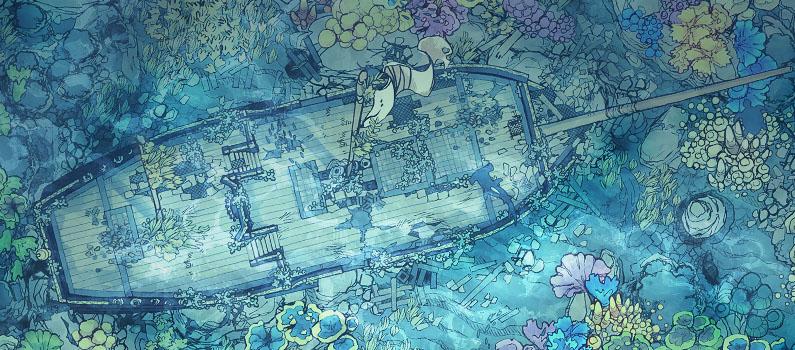 Sunken Ship - Saling Chef Map variant