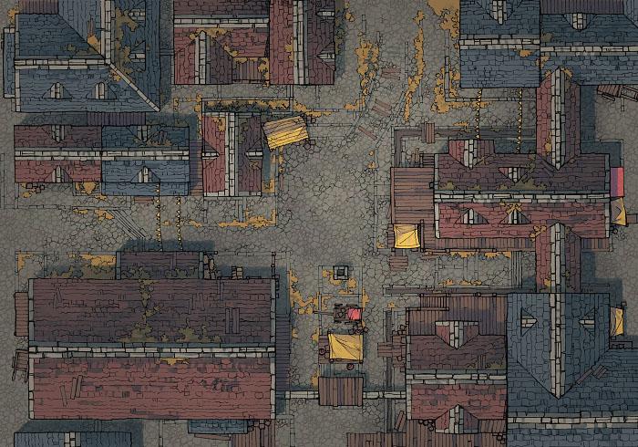 Town Center - Grimdark - Day - 44x32