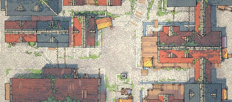 Town Center battle map - Banner 1