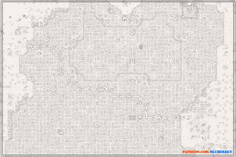 BluBerrey's City Maps - Capital