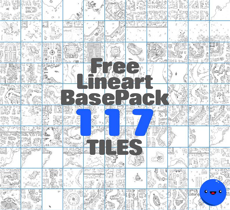 BluBerrey's City Maps - Free Tiles