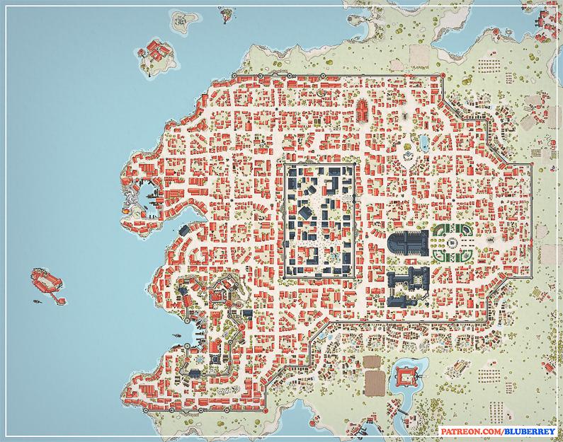 BluBerrey's City Maps - July