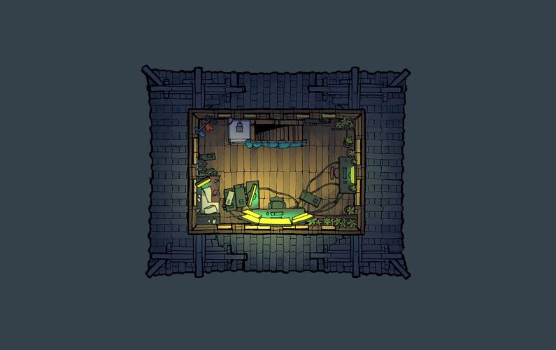 BluBerrey's Cyberpunk Castle battle map - Floor 5