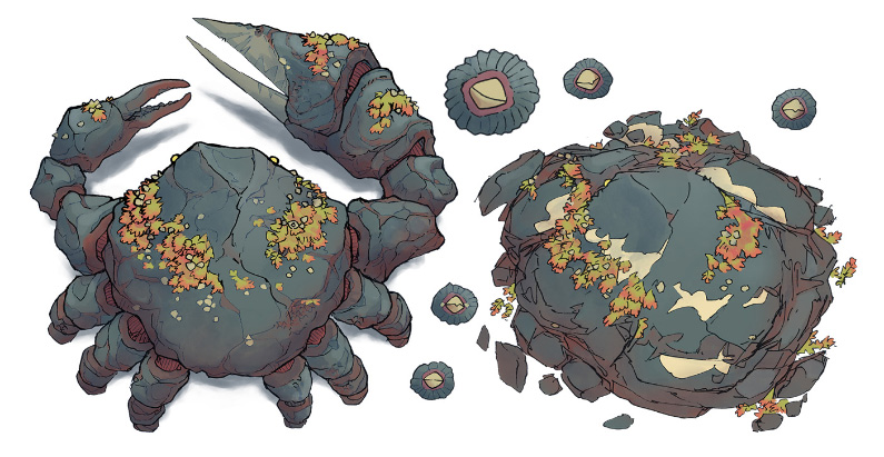 Colossal Crab asset pack preview (small)