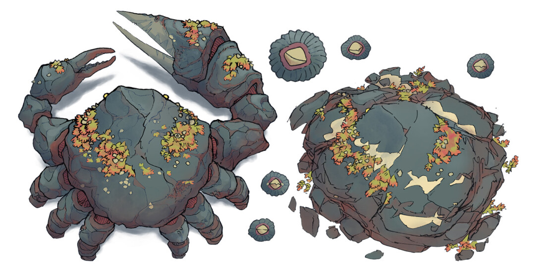 Colossal Crab asset pack preview