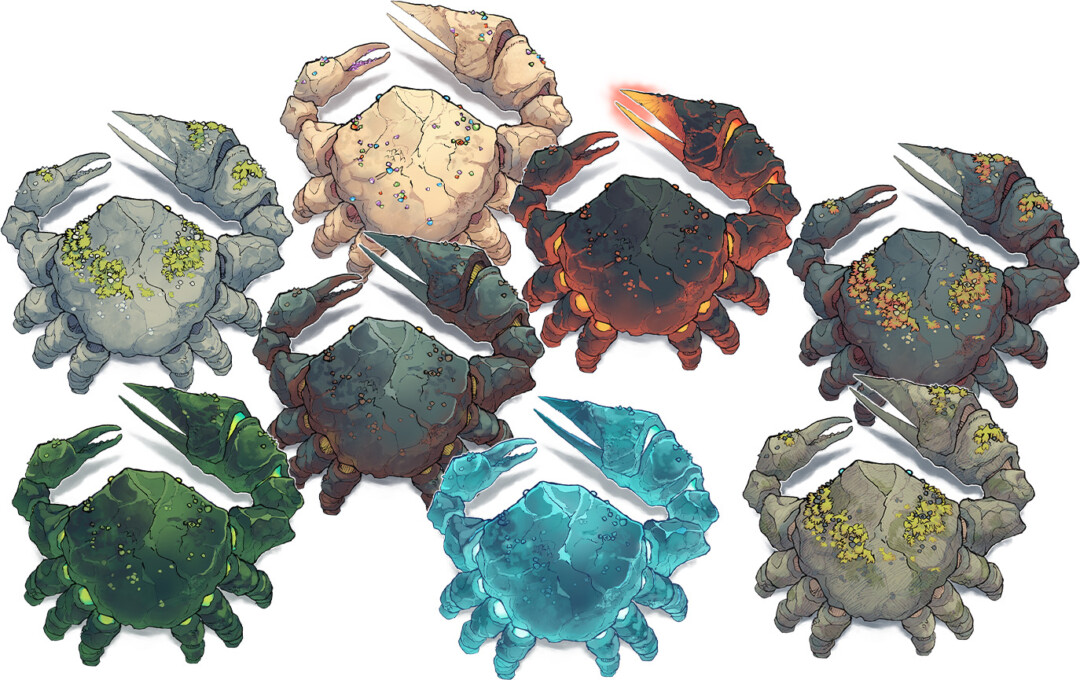Colossal Crab Colossal Crab map variants preview 2map variants preview 2