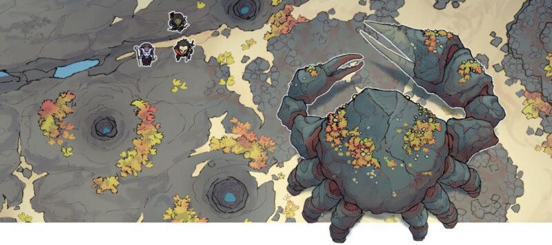 Colossal Crab monster token - Banner
