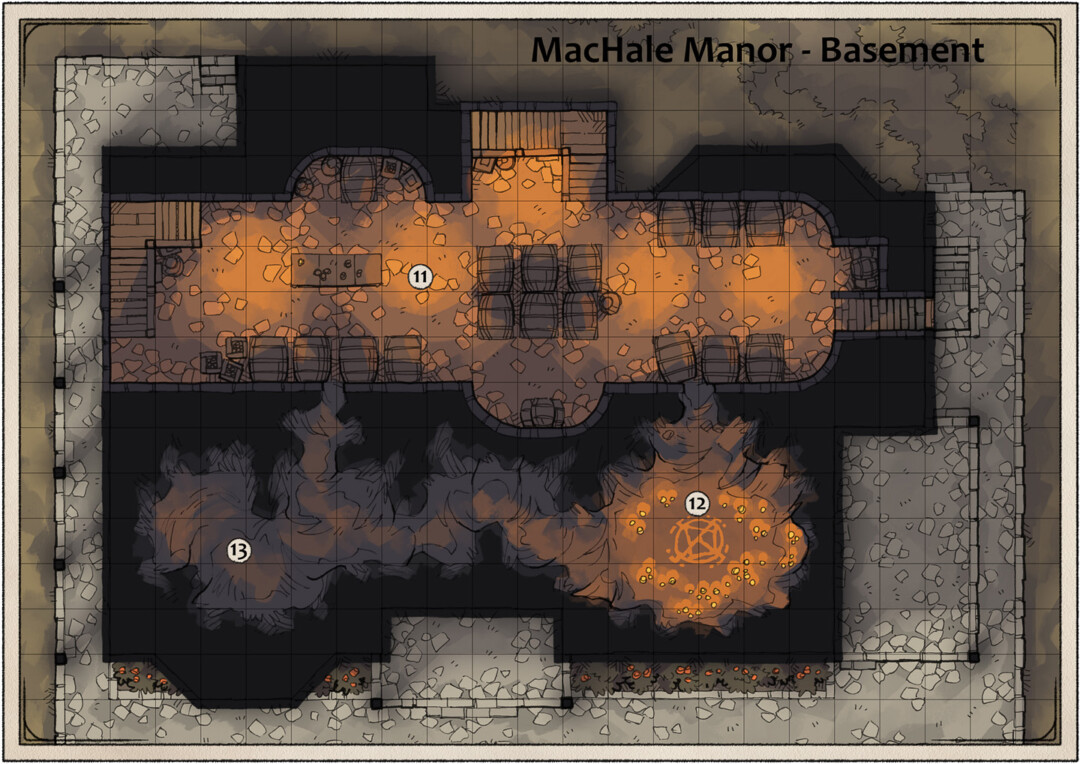 MacHale Manor Basement