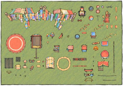 Circus Map Assets - Map assets 2